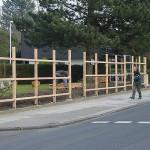Installation der Grundkonstruktion