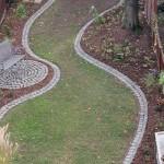 Der fertige Garten mit Bepflanzung