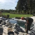 Teicharbeiten